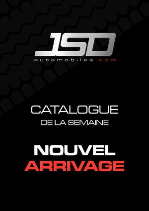 Catalogue nouvel arrivage JSD Automobiles