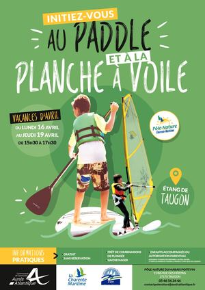 Calameo Affiche Paddle Voile