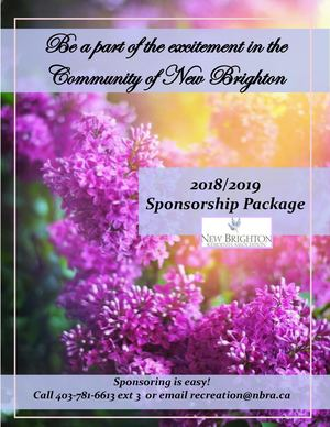 Sponsorship Catalogue 2018