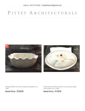 Antique Sink Vintage Kitchen And Bathroom Sinks For Sale Pittet Architecturals