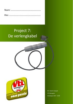 Project 7 De Verlengkabel