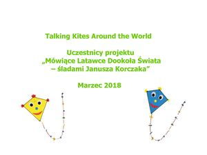 Uczestnicy Talking Kites Around The World
