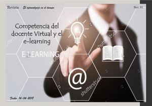 Competencia Del Docente Virtual Y El E Learning