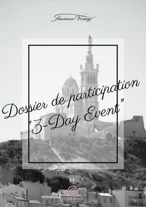 Dossier De Participation 3 Day Event (1)