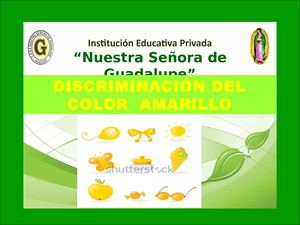 35 Discriminación Del Color Amarilllo