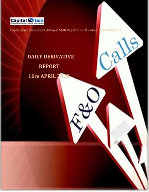 Derivatives Report 16 Apr 2016