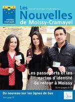 Les journal municipal d'information Nouvelles de Moissy-Cramayel Les passeports et les cartes d'identité de retour à Moissy (Lire pages 6-7) Du nouveau sur les lignes de bus (lire page 5) N° 268 avril 2018
