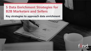 5 Data Enrichment Strategies For B2B Marketers And Sellers