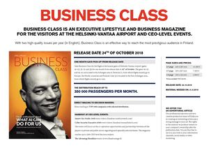 Business Class 2/18 media card