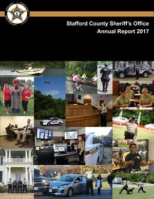 Stafford County Sheriff's Office 2017 Annual Report