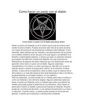 Calaméo Como Hacer Un Pacto Con El Diablo