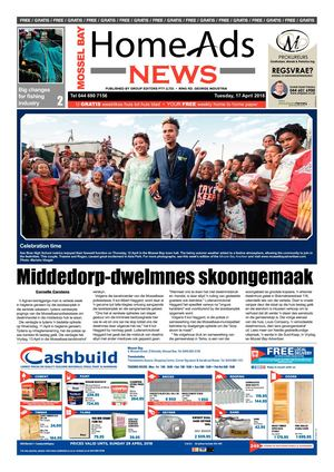 Mossel Bay Home Ads News 17 April 2018