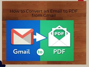 How to Convert an Email to PDF from Gmail