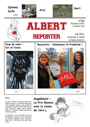Albert Reporter 09 Journal lycéen