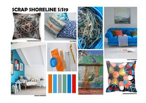 Scrap Shoreline Interior Collection kirsty mcintyre