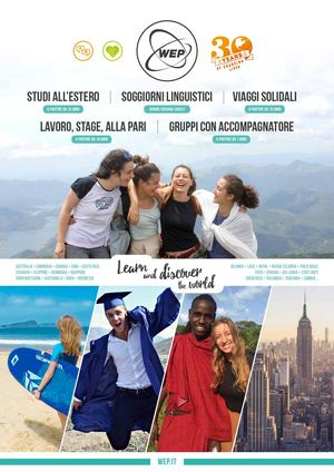 Calaméo - WEP - Panoramica dei nostri soggiorni all\'estero