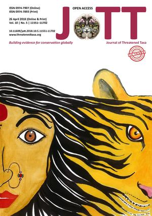 JoTT | April 2018 | Vol. 10 | No. 5 | Pages: 11551–11702