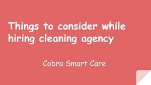 Cleaning Services In Abu Dhabi -  Cobra Smart Care