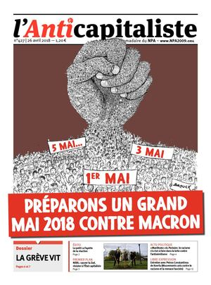 L'Anticapitaliste n° 427 (26 avril 2018)