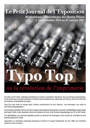 Typo Top Petit Journal