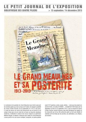 Le Grand Meaulnes Petit Journal