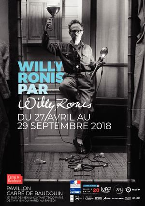 Flyer Willy Ronis par Willy Ronis