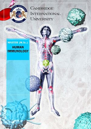 Master in Human Immunology, Mst