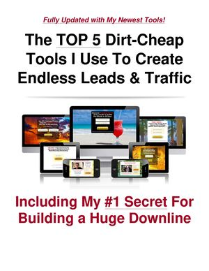 Earn While You Sleep $100 To $500 Daily With This Top 5 Durt Cheap Lead Tools