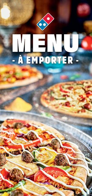 Domino's Pizza (Waterloo) - Carte / Menu