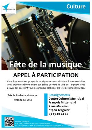 Flyer Appel Candidature