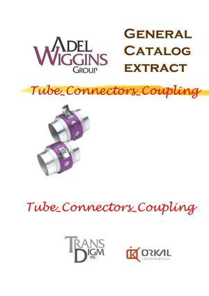 Orkal Adel Wiggins Tube Connectors Coupling Catalog Extract