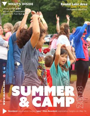 2018 Summer Camp Brochure 050418