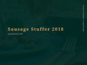 Best Sausage Stuffers of 2018