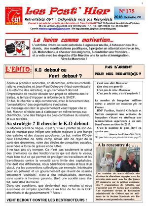 Les Post Hier N 175