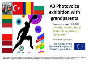 A3 Photovoice Exhibition With Grannies