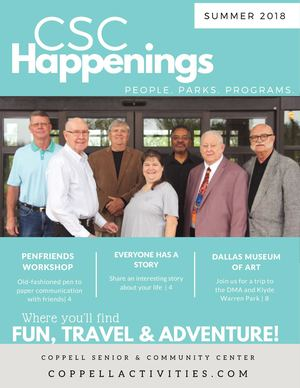 CSC Happenings Summer 2018