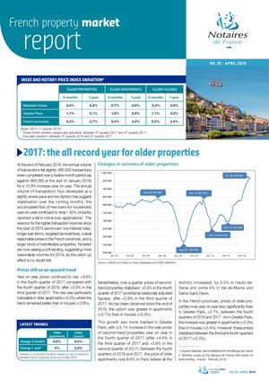 French Property Market Report N°39 / April 2018