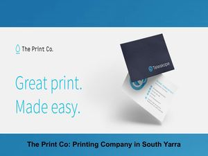 The Print Co: Printing Company in South Yarra