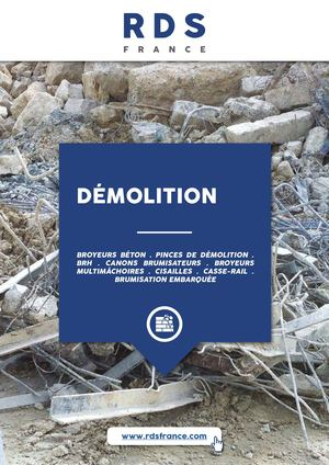 Catalogue DEMOLITION / RDS France