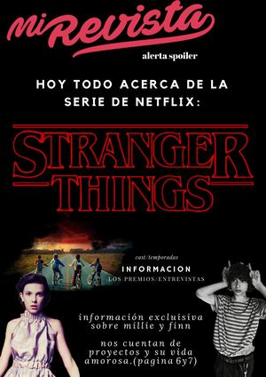 revista de stranger things