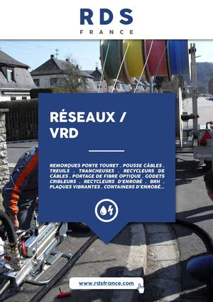 Catalogue RESEAUX VRD / RDS France