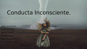 Conducta Inconsciente EVELYN GONZALEZ