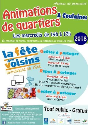 Flyer Animations De Quartiers Mai 2018