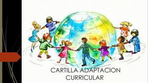 Cartilla Adaptacion Curricular