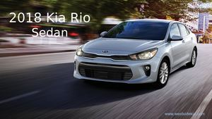 Classic 2018 Kia Rio Sedan – Westside Kia Houston TX