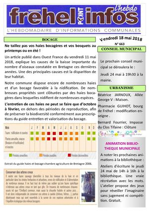 Journal municipal Fréhel.info du 18 Mai 2018