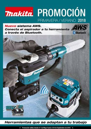 Makita Folleto Promo Primavera 18