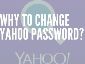 How to Change Yahoo Password?