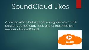 Buy SoundCloud Likes And Promote Music SoundCloud