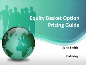 Pricing Guide for Equity Basket Option